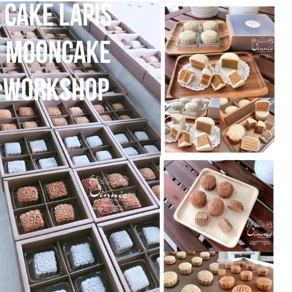 13/7 Cake Lapis Mooncake  Hands On Workshop