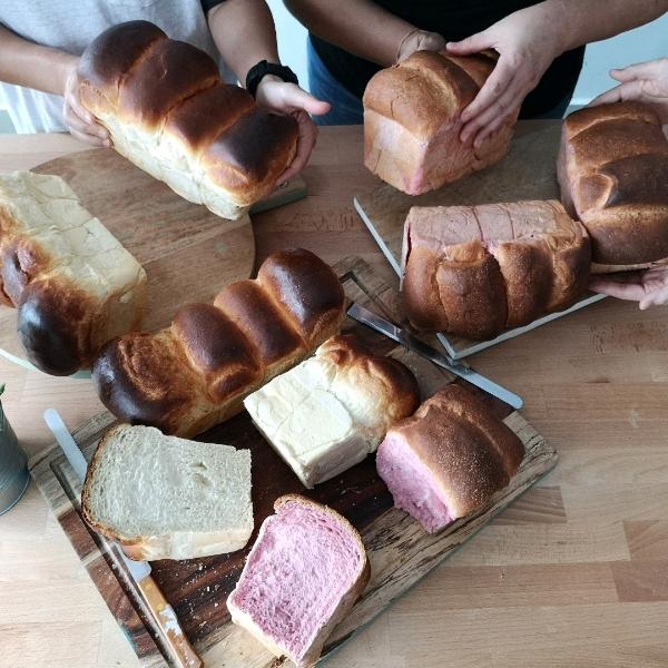13 Nov_Sourdough Hokkaido  & Pan Loaf