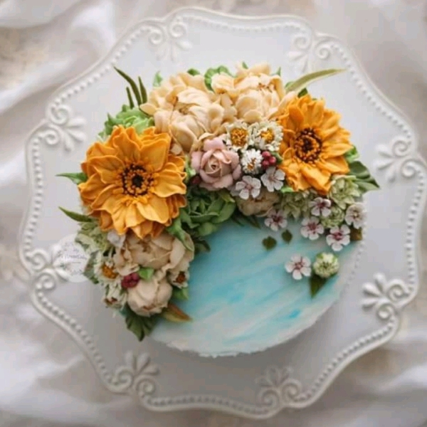 15_Sep  2in1 Buttercream & Beanpaste Flower Cake Workshop1