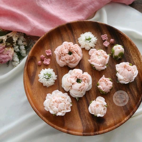 15_Sep  2in1 Buttercream & Beanpaste Flower Cake Workshop3