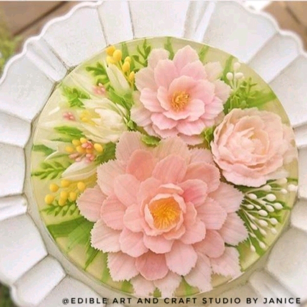 16/2 CNY 3d Jelly Flower Cake Workshop