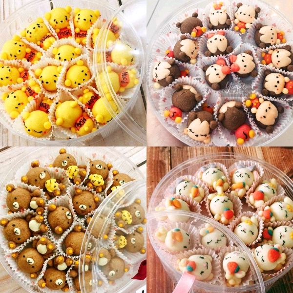 16/3  Rilakkuma Butter Cookies Workshop1