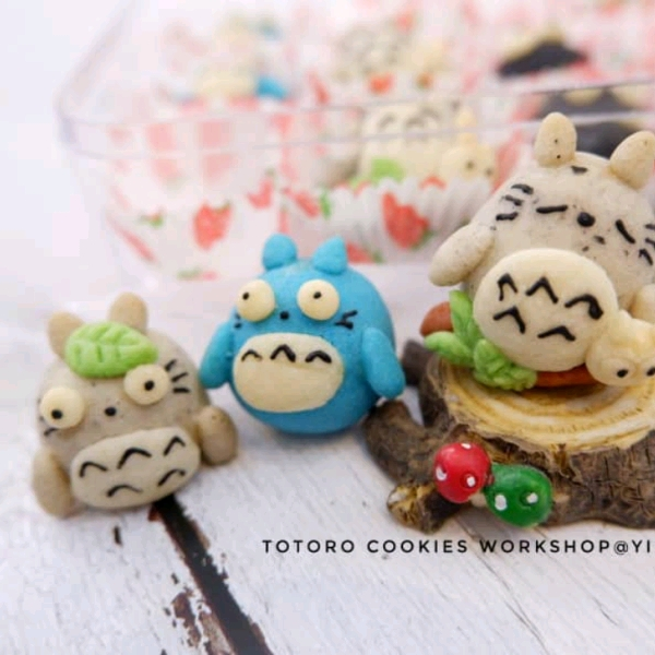 16/3  Totoro Butter Cookies Workshop0