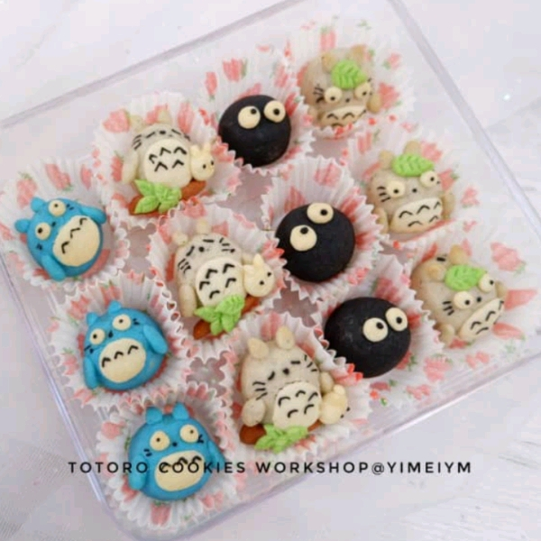 16/3  Totoro Butter Cookies Workshop1