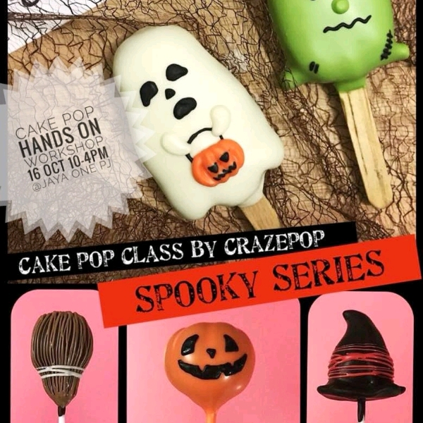 16 Oct_ Halloween Cakepop Hands On Workshop