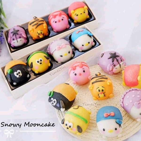 17/7 Tsumtsum Snowskin Mooncake Workshop