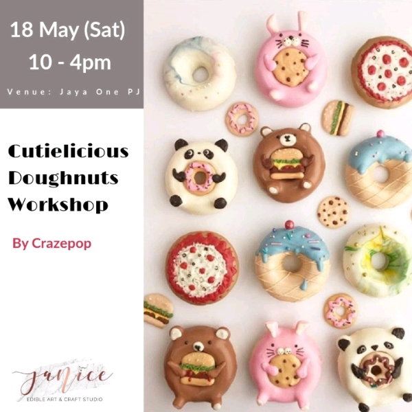 18/5 Crazepop Cutielicious Doughnuts Workshop