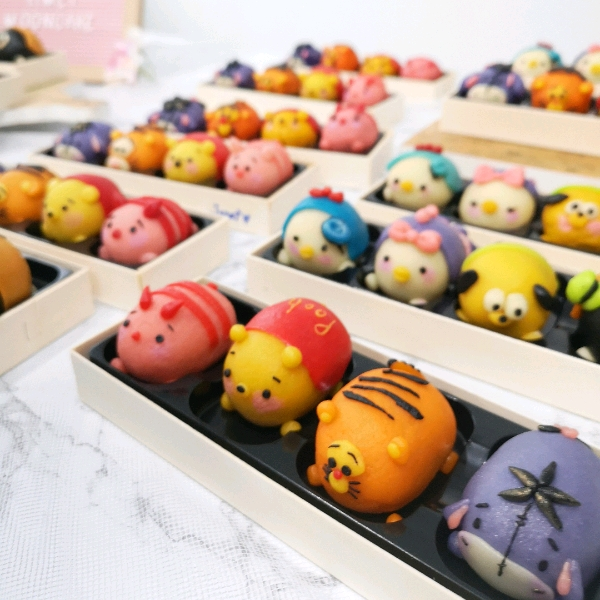 18/8 Tsumtsum Snowskin Mooncake Workshop