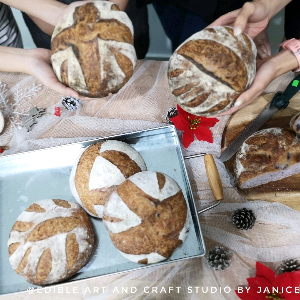 12 Jan _Artisan Sourdough Hands on Workshop
