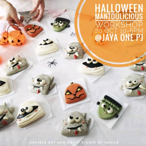 20/10  Halloween Mantoulicious Workshop