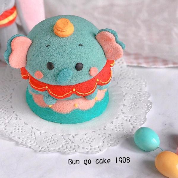 20/9  2in1 3D Dumbo Chiffon Cake& Cakepop Workshop1