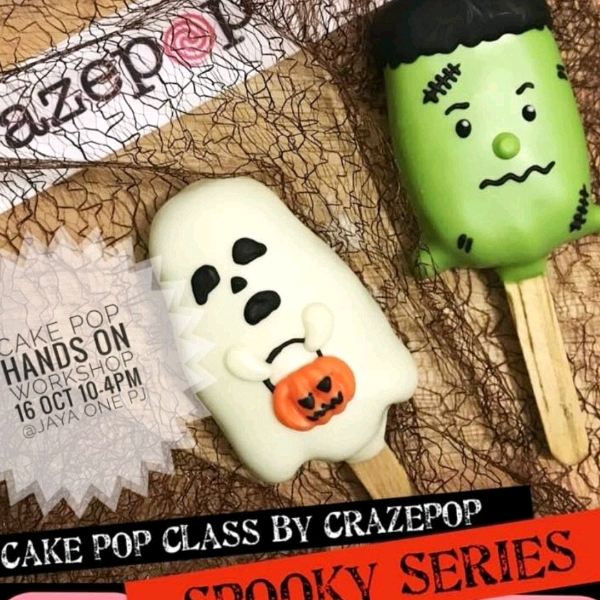 Halloween Cakepop Hands On Workshop (2pax)1
