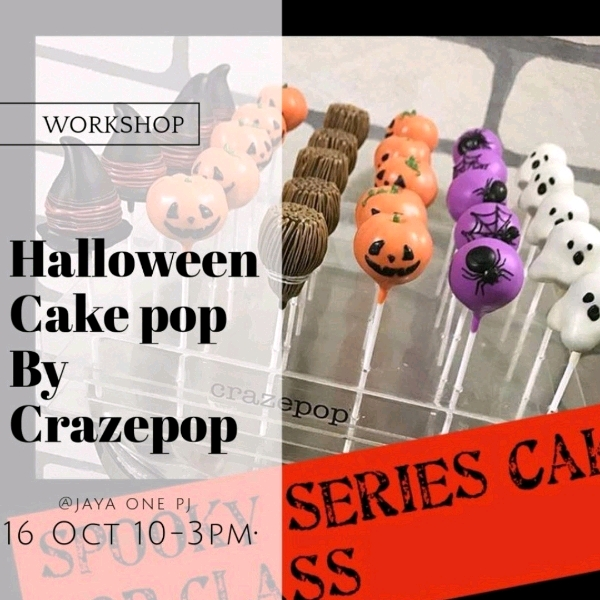 Halloween Cakepop Hands On Workshop (2pax)2