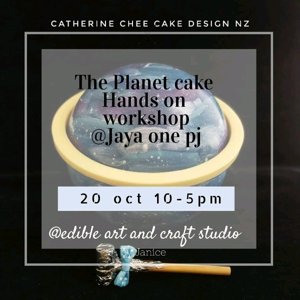 20 Oct _The Planet Cake Hands On Workshop
