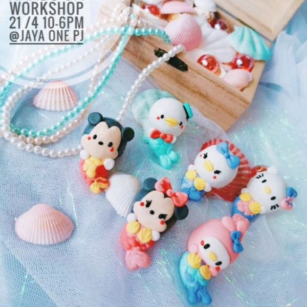 21/4 Mermaids Tsumtsum  Tangyuan Workshop