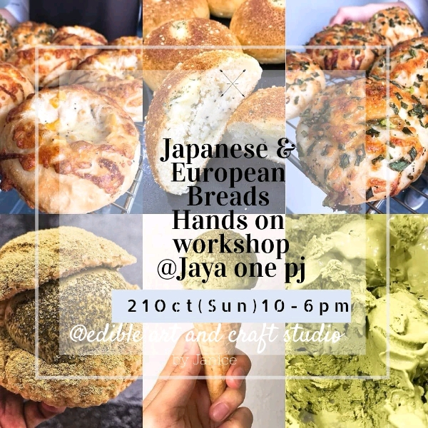 21_Oct 2 In 1 Japanese And European Breads Workshop