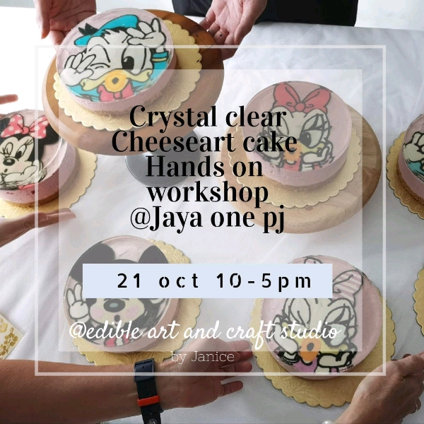 21_Oct Cartoon Cheese Art Cake Workshop
