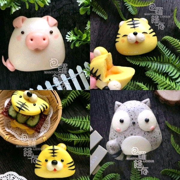 22/6 2In1 Cutie Animal Mantoulicious Workshop