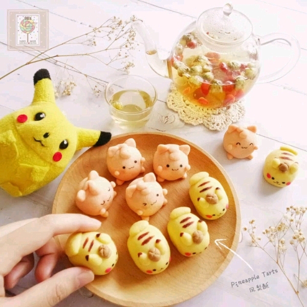 22/6 Pikachu Pineapple Trats Cookies Workshop