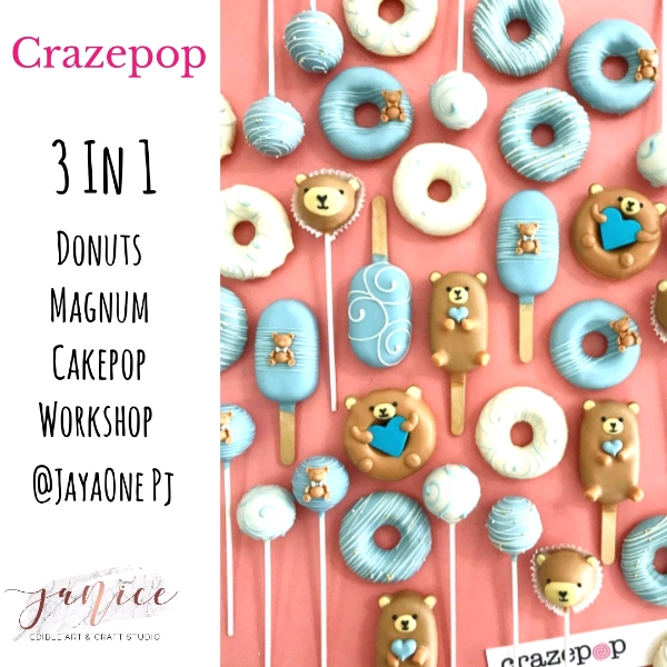 21/8  3 In 1 Combo Crazepop Hands On Workshop