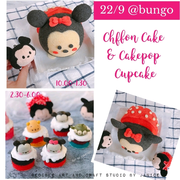 22/9  2in1Minnie Chiffon & Cakepop Hands On Workshop