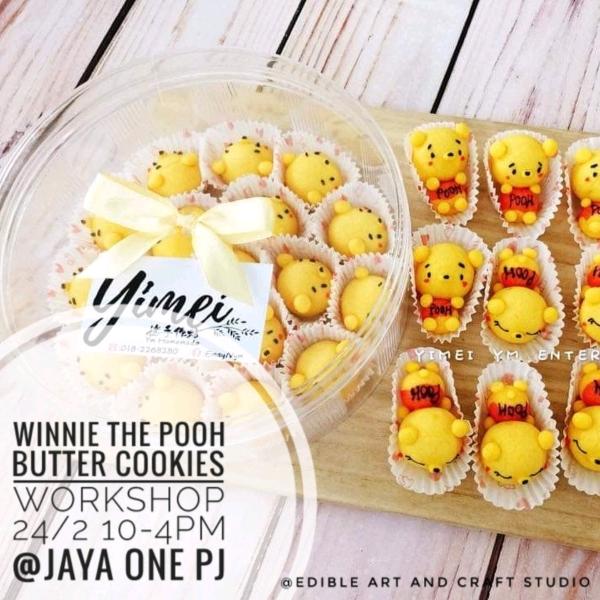 24/2  Winnie The Pooh Cookies Workshop