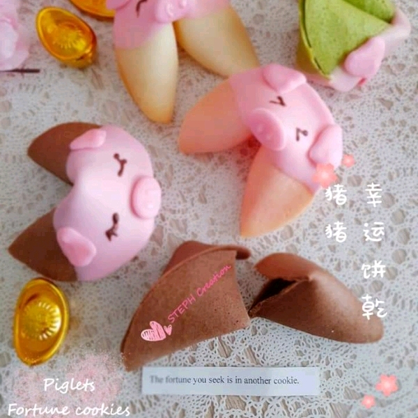 24 Feb _Piggie Fortune cookies Hand On Workshop2