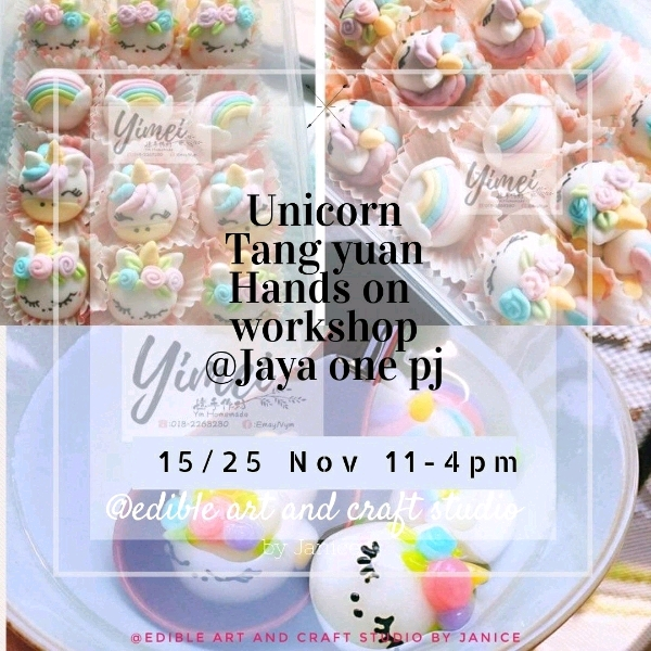 25 Nov_ Unicorn Tang Yuan Hands On Workshop