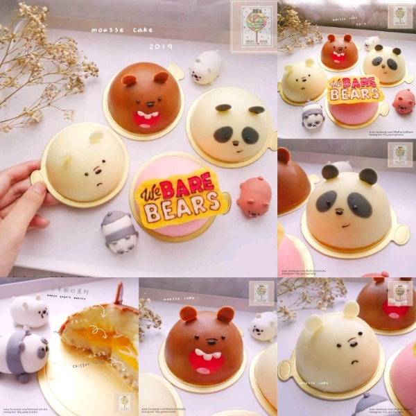 26/5 We Bare Bear Mango Yogurt Mousse Cake Workshop0
