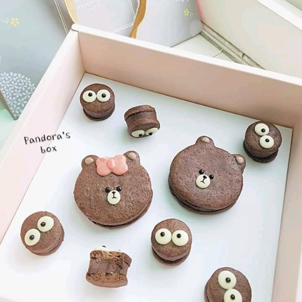 27/4 3d Cutie Bear Tiramisu + Chocolate Cookies @Pandora's Box2