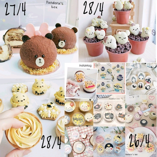 26/4 Cartoon heese Cupcake Workshop @Pandora's Box