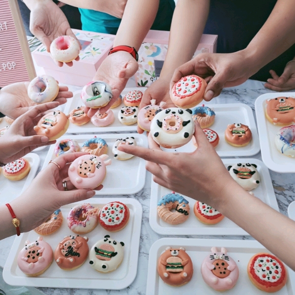 30/6 Crazepop Cutielicious Doughnuts Workshop