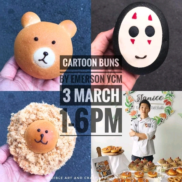 3 Mar_ Cartoon Japanese Sweet Buns Hands On Workshop