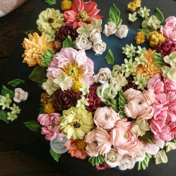 4&5 May Buttercream Flower Cake Workshop0