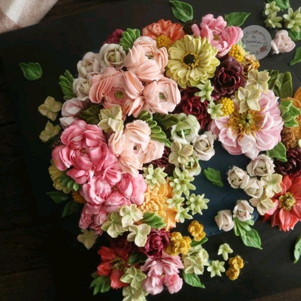 4&5 May Buttercream Flower Cake Workshop2