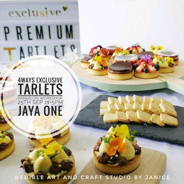 4 Ways Exclusive Tartlets Hands On workshop0