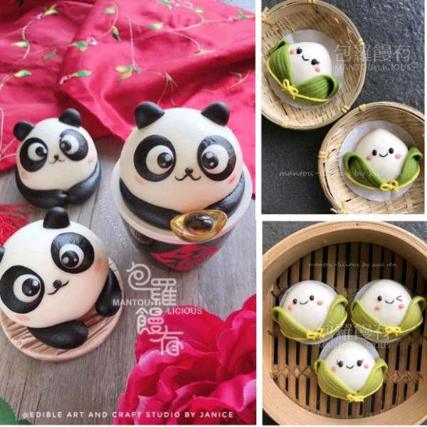 5/6 Panda & Dumpling Mantoulicious Workshop