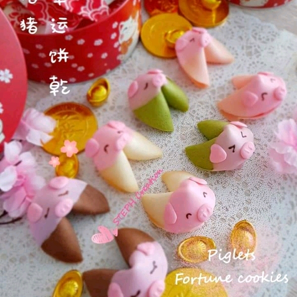 6/3 Piggie Fortune cookies Hand On Workshop