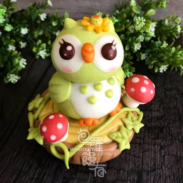 7/5 3d Owl & Wood Mantoulicious Workshop1