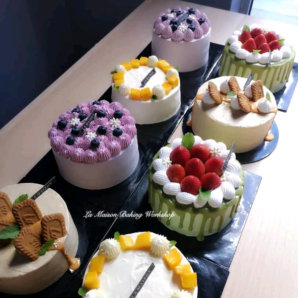 8/9  4in1 Korean Style Fresh Cream Cake1