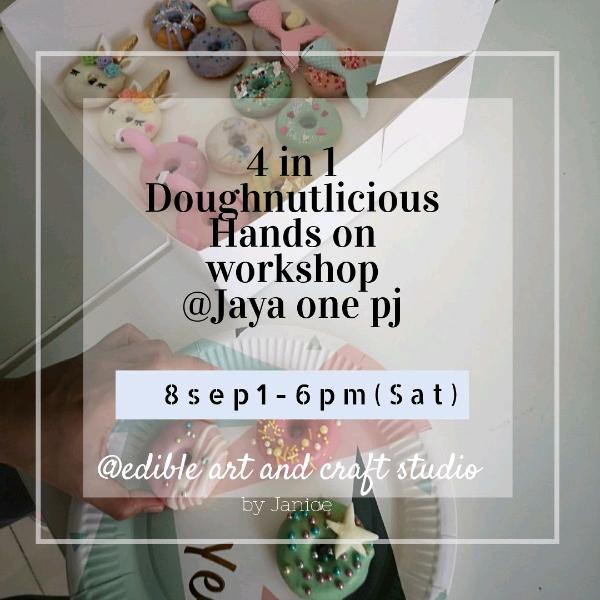 8 Sep _4 In 1 Doughnutlicious Hands On Workshop0