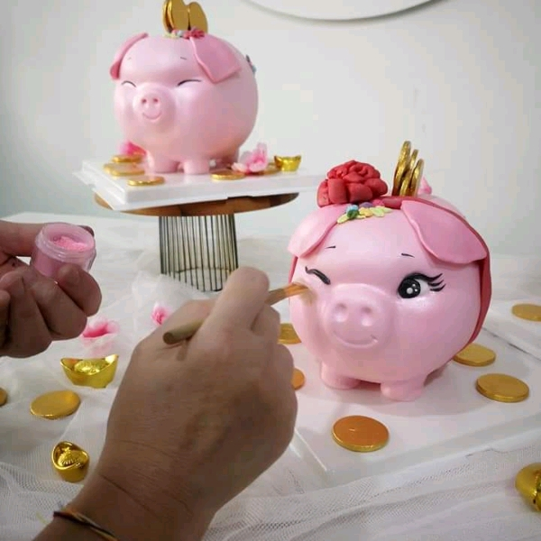 9/3 Edible Piggy Bank Hands On Workshop0