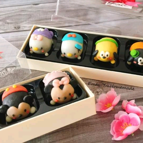 9/6 Tsumtsum Snowskin Mooncake Workshop0
