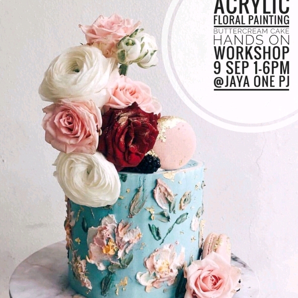 Acrylic Floral Painting Hands On Workshop (8 Sep)0