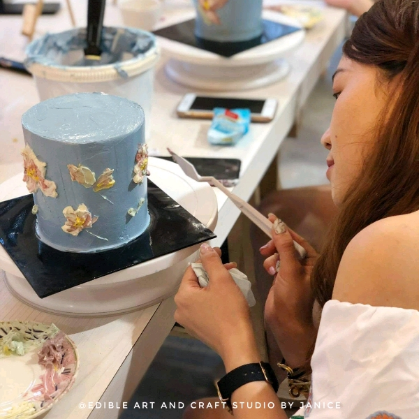 Acrylic Floral Painting Hands On Workshop (8 Sep)1