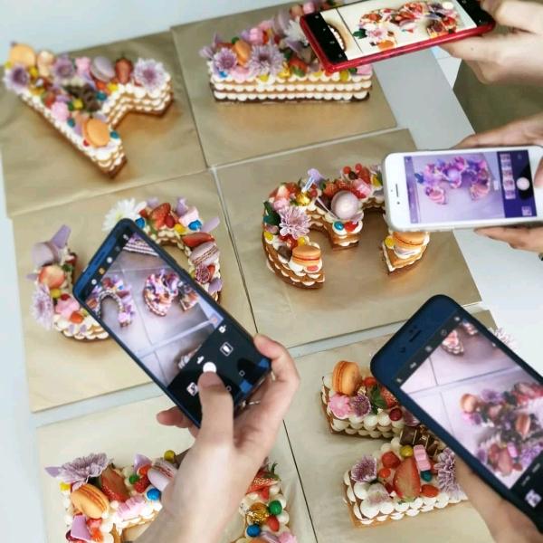 Alphabet Biscuit Cookies Cake Hands On Workshop0