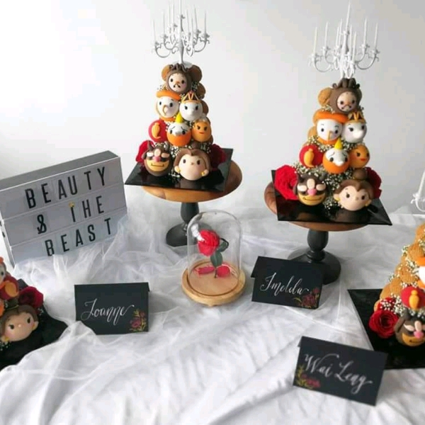 Beauty And The Beast Choux Tower Workshop0
