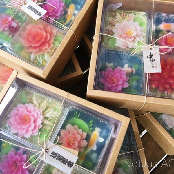 26 Jan _CNY 3d Jelly Flower Box Set Workshop