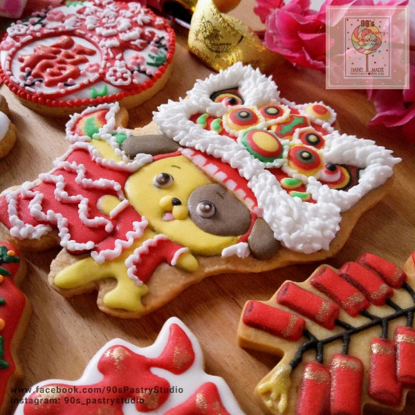 CNY Theme Royal Icing Cookies Workshop2