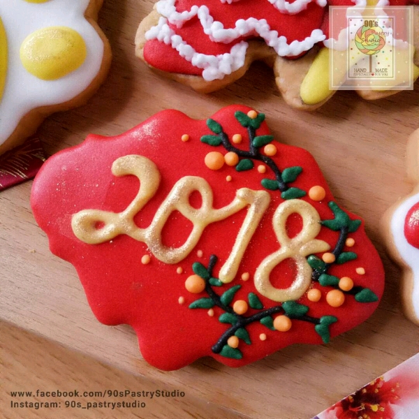 CNY Theme Royal Icing Cookies Workshop3